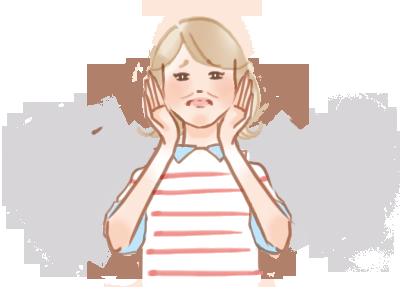 ダウンタイムの腫れに悩むアケミ