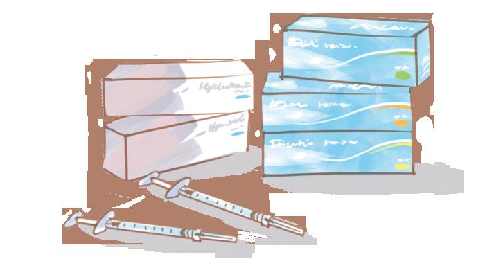 ヒアルロン酸注射の製剤の種類